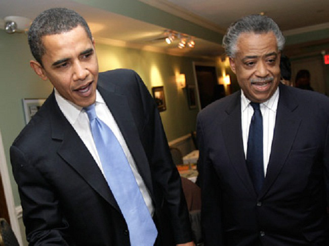 Rev. Sharpton Meets With Pres. Obama To Discuss Voting Rights Act