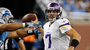 Josh Freeman To Start For Vikings In Week 8 Vs. Packers