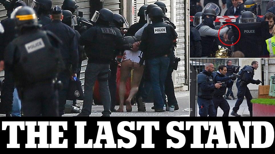 Paris Terrorists Last Stand