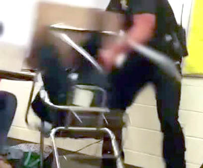 Black Parents Protest Charge For Teen Tossed From Desk