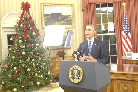 Obama Says of Terrorist Threat: 'We Will Overcome It'