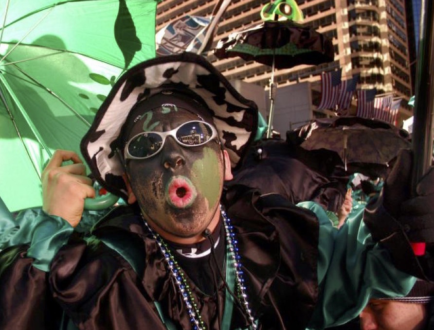 Philadelphia Parade Participants Wear Blackface