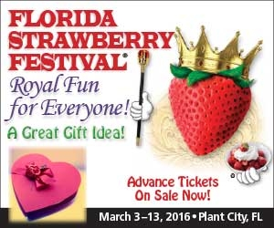 Strawberry Festival Feb 14th