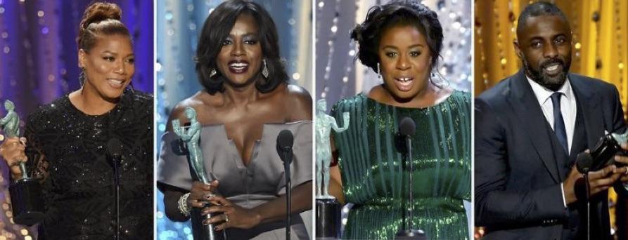Social Media Goes Ham On Black Winners At SAG Awards