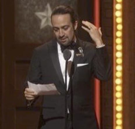 'Hamilton' Wins 11 Tony Awards; Creator Accepts With Heartfelt Sonnet To Victims Of Orlando Shooting