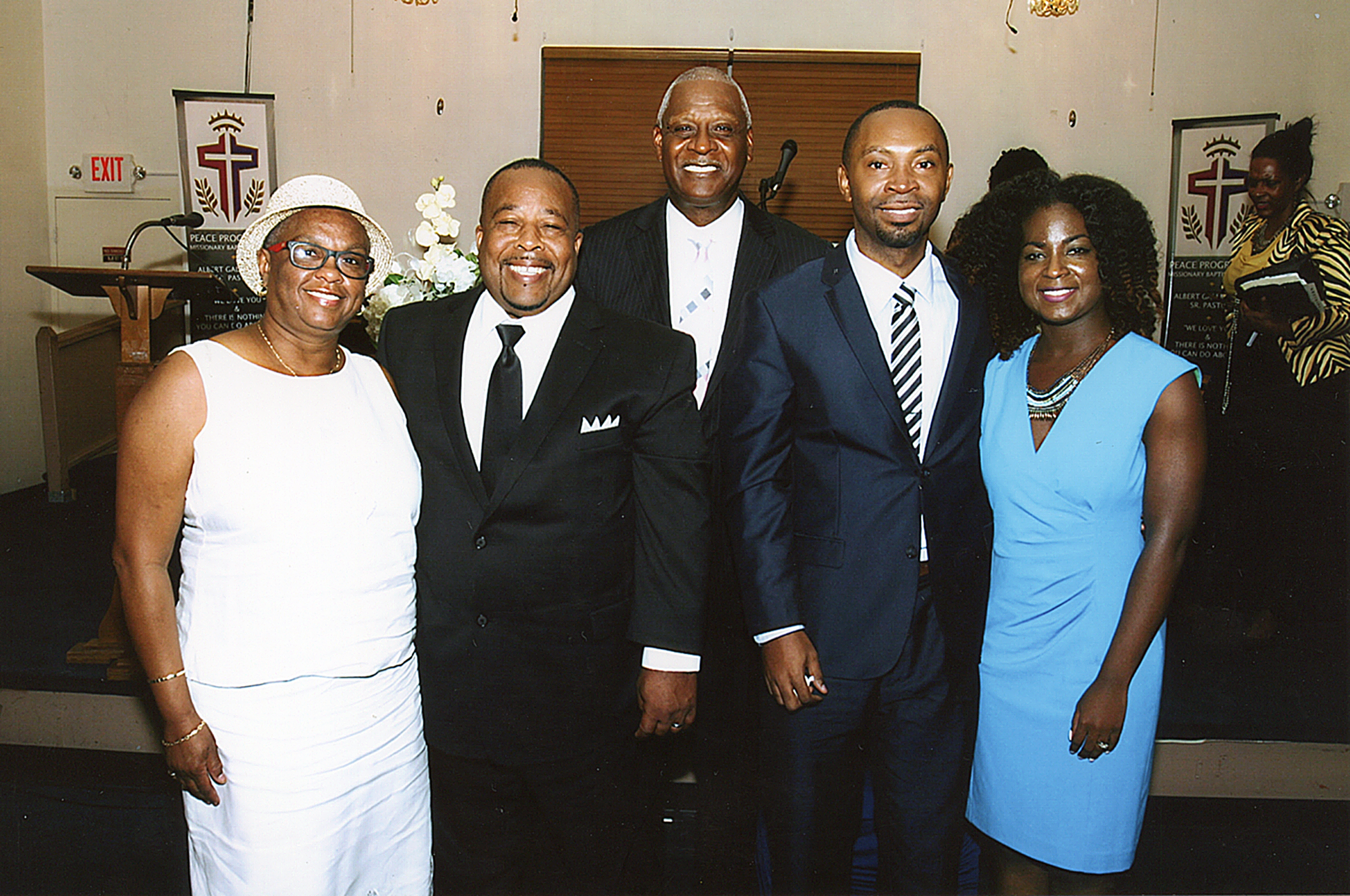 PEACE MISSIONARY BAPTIST CHURCH HOSTS ORDINATION SERVICE