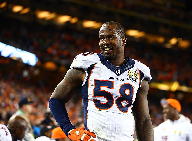 Broncos Sign Von Miller For 6 Years; Deal Worth $114.5M