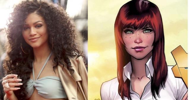 Zendaya Will Play Mary Jane Watson In Spider Man: Homecoming