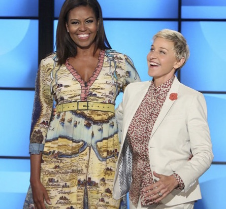 Mrs. Obama Makes Her Last Stop On 'Ellen' Before Leaving The White House