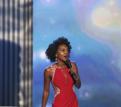 Miss D.C. Wears Natural Hair In Miss America Paegant