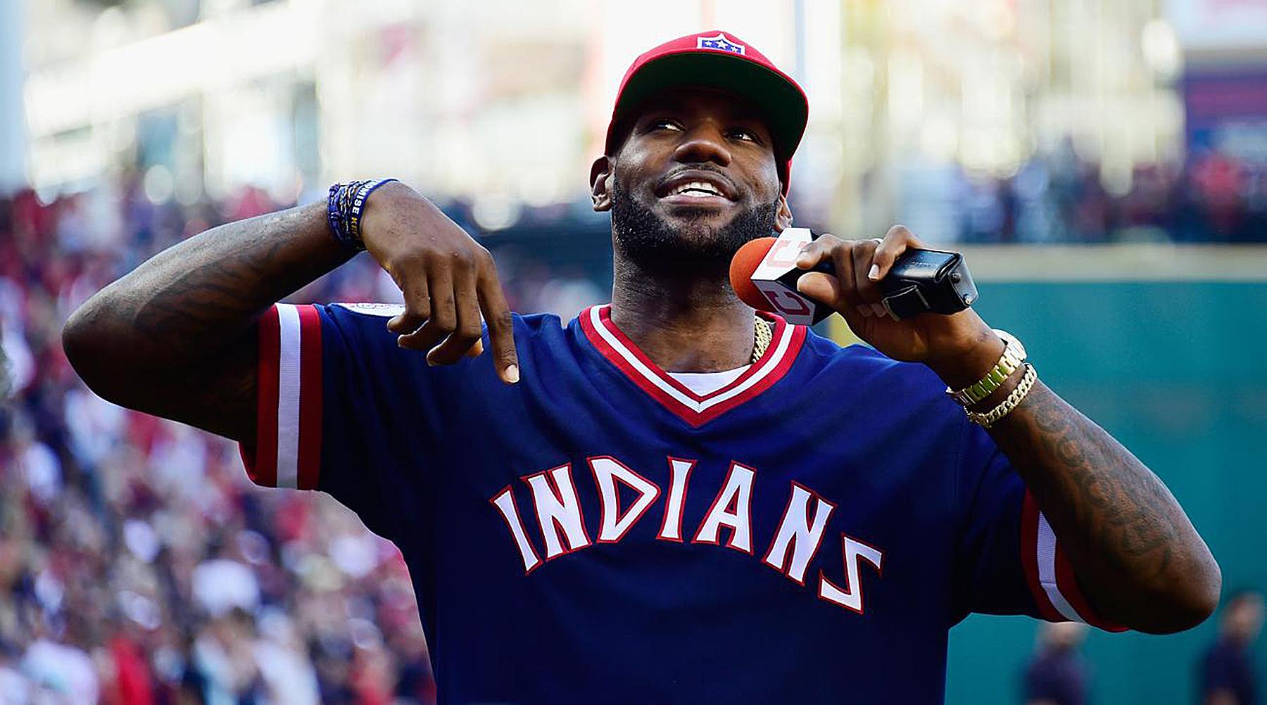 LeBron James Congratulates Indians On World Series Berth