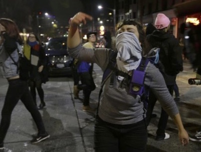Cities Erupts In Protest After Trump Wins