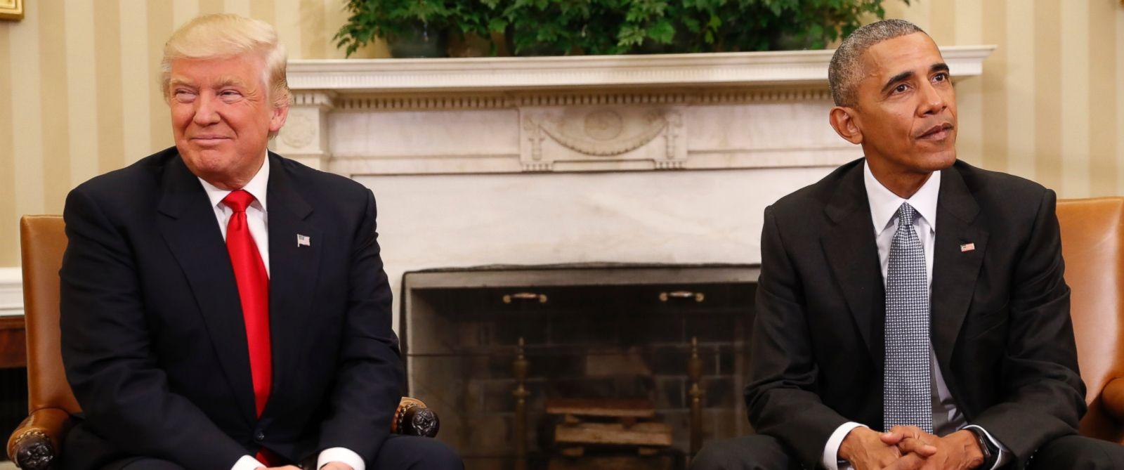 Trump: 'I Really Like President Obama'