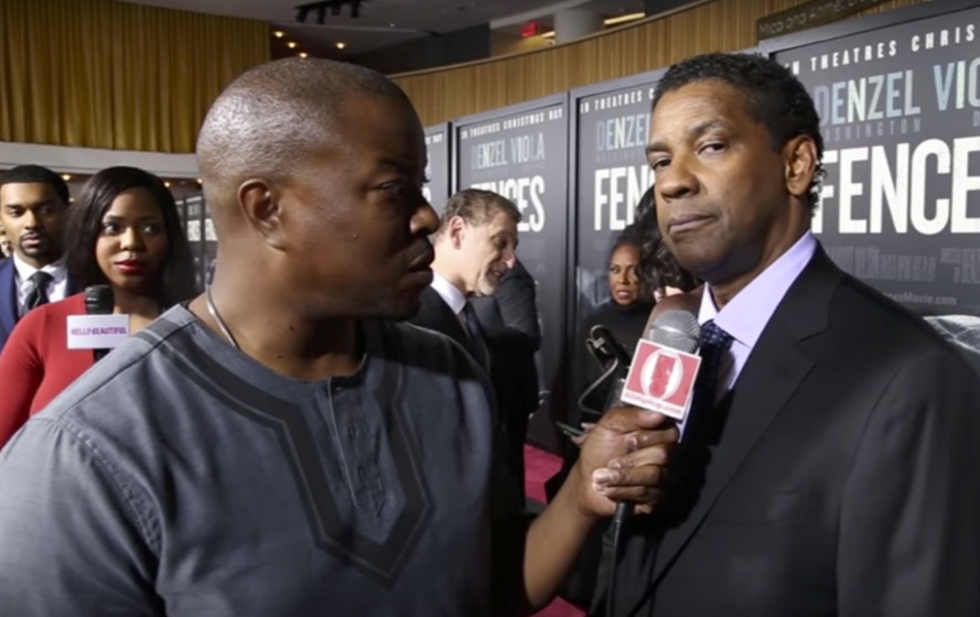 Denzel Washington's Send Tough Love Message To Black Men During Premiere Of 'Fences'