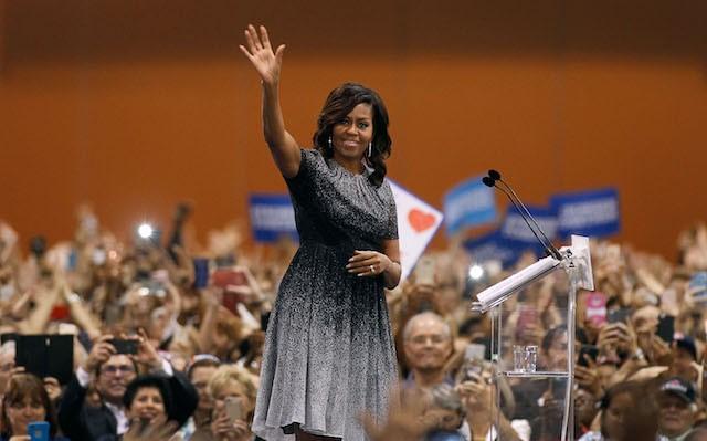 FLOTUS Michelle Obama Says She Fell Asleep Before Trump Announced Winner
