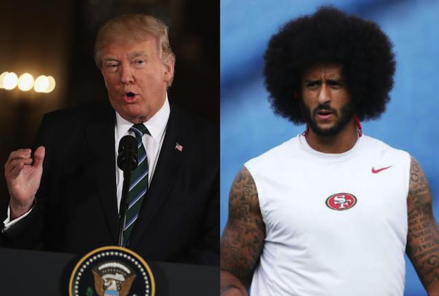 President Finding Humor In  NFL QB Colin Kaepernick's Unemployment