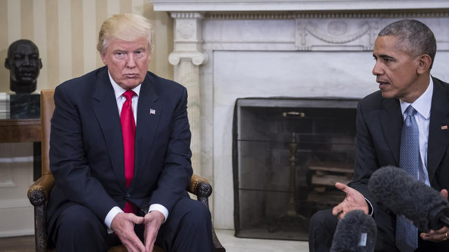 44th President Obama Is ' Furious' At Trump's Allegation He Ordered Wiretap Of Trump Tower