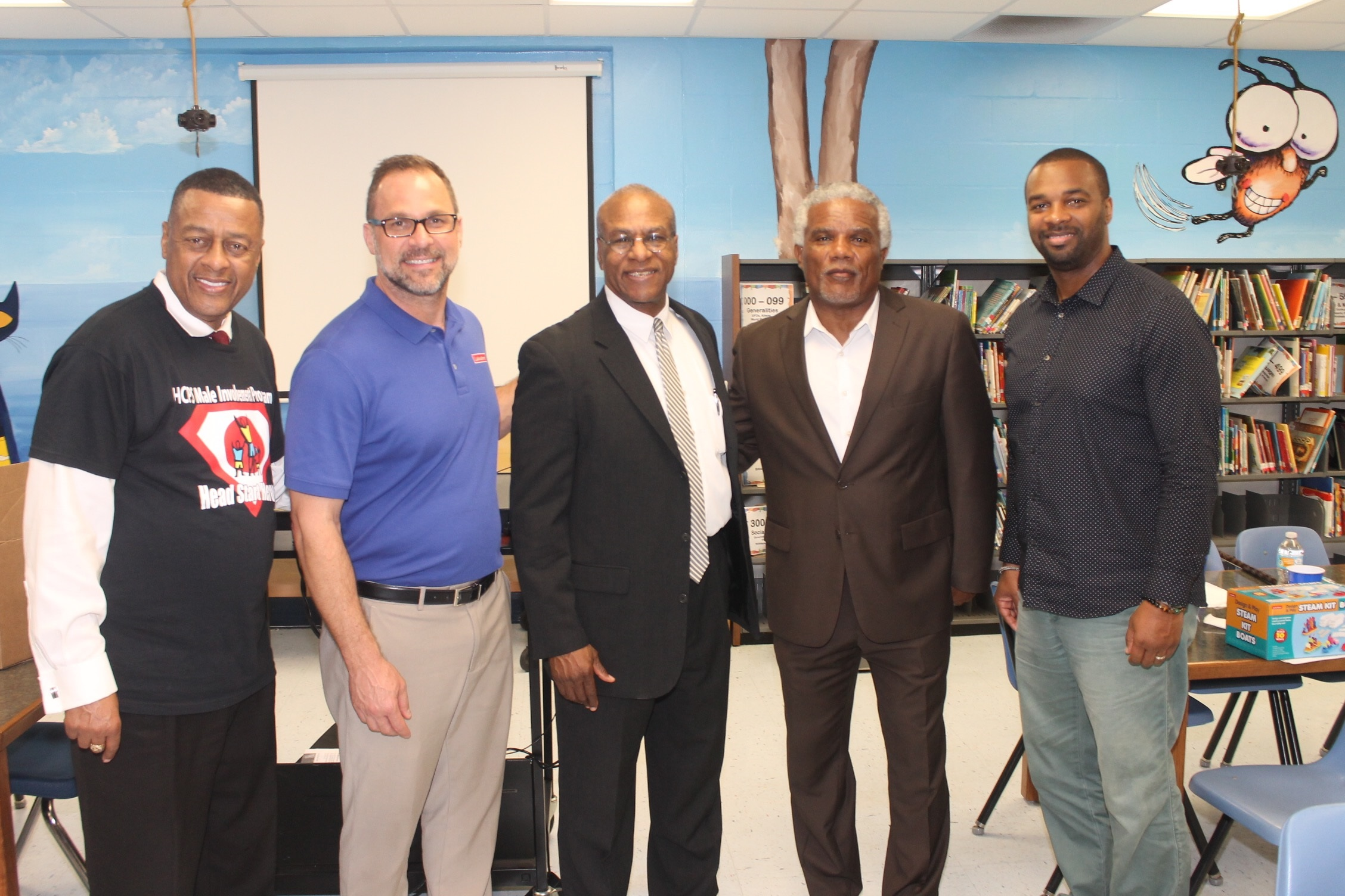 HEAD START MALE INVOLVEMENT WORKSHOP AT RIVERVIEW ELEMENTARY SCHOOL