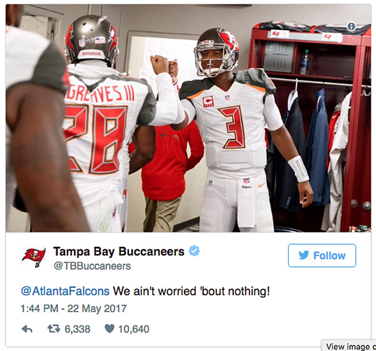 Bucs Coach Apologizes For Tweet Mocking Falcons' Super Bowl Collapse