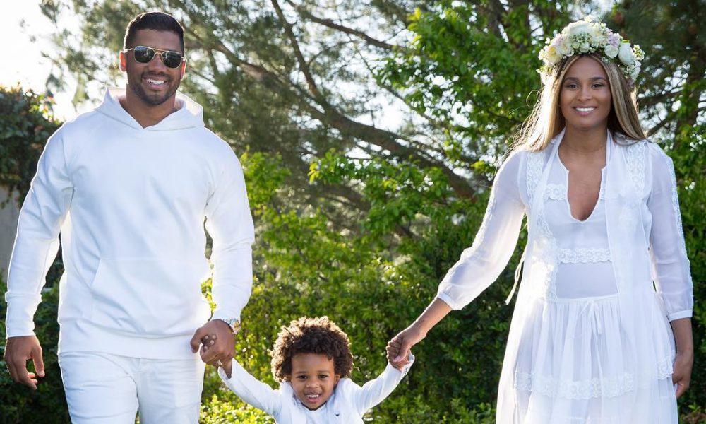 Ciara dedicates sweet video to husband after daughters birth