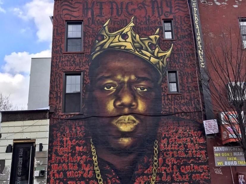 Landlord Decides To Preserve Mural Of Biggie After Backlash