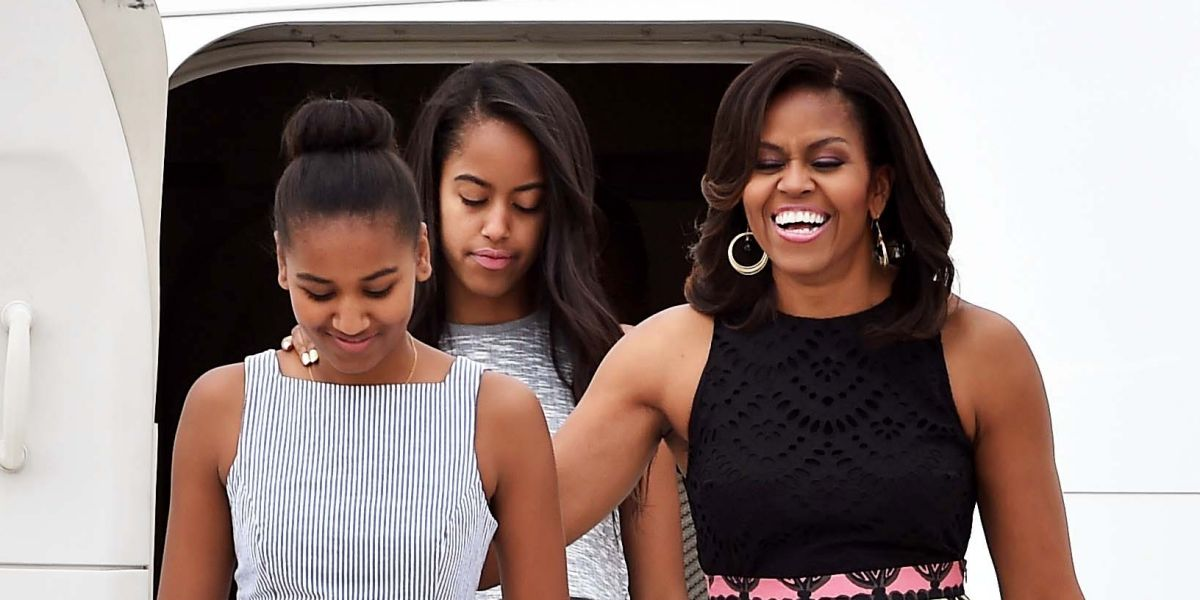Mrs. Obama Reveals What Happened The Last Night In White House: 'A Sleepover'