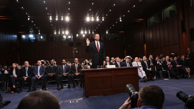 19.5 Million Watch Ex-FBI Director James Comey Testify On Thursday