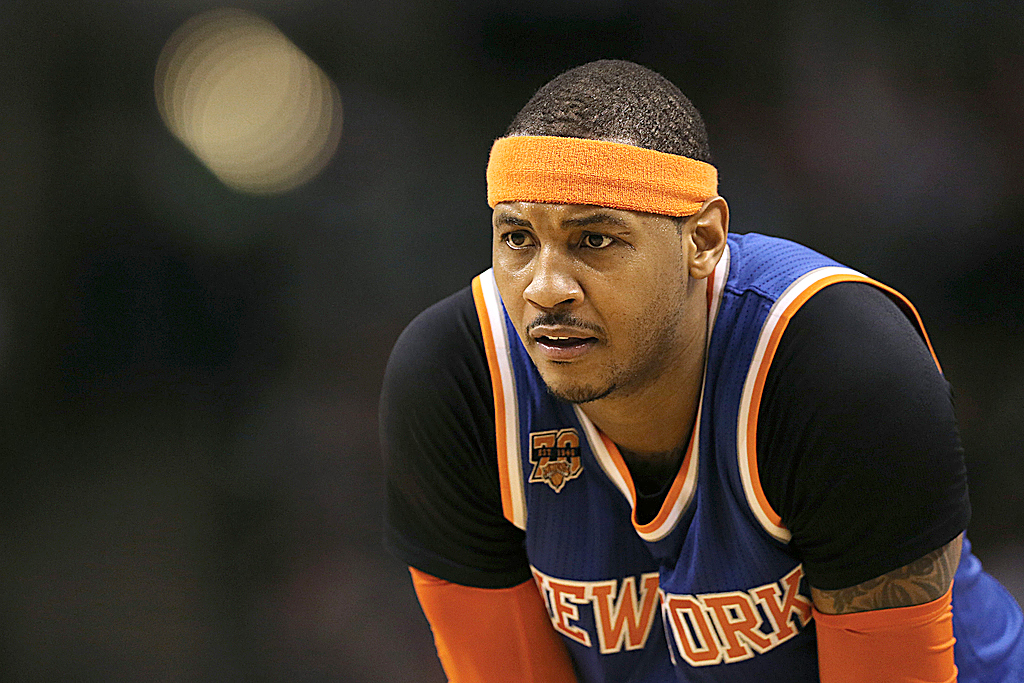 Knicks President Steve Mills: Carmelo Anthony Could Stay With Team