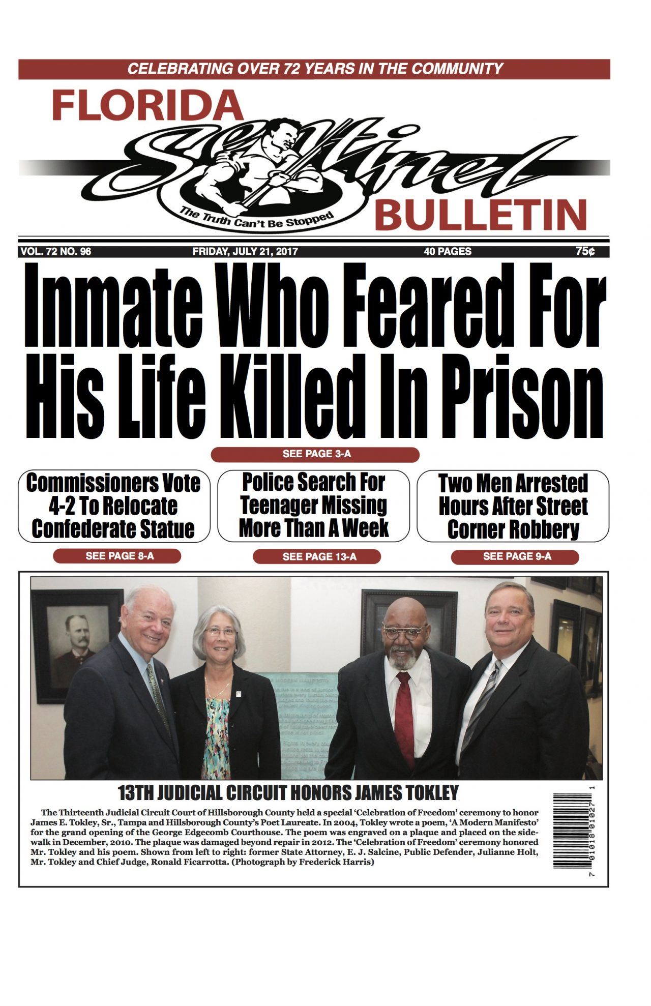 Front Page 7-21-17