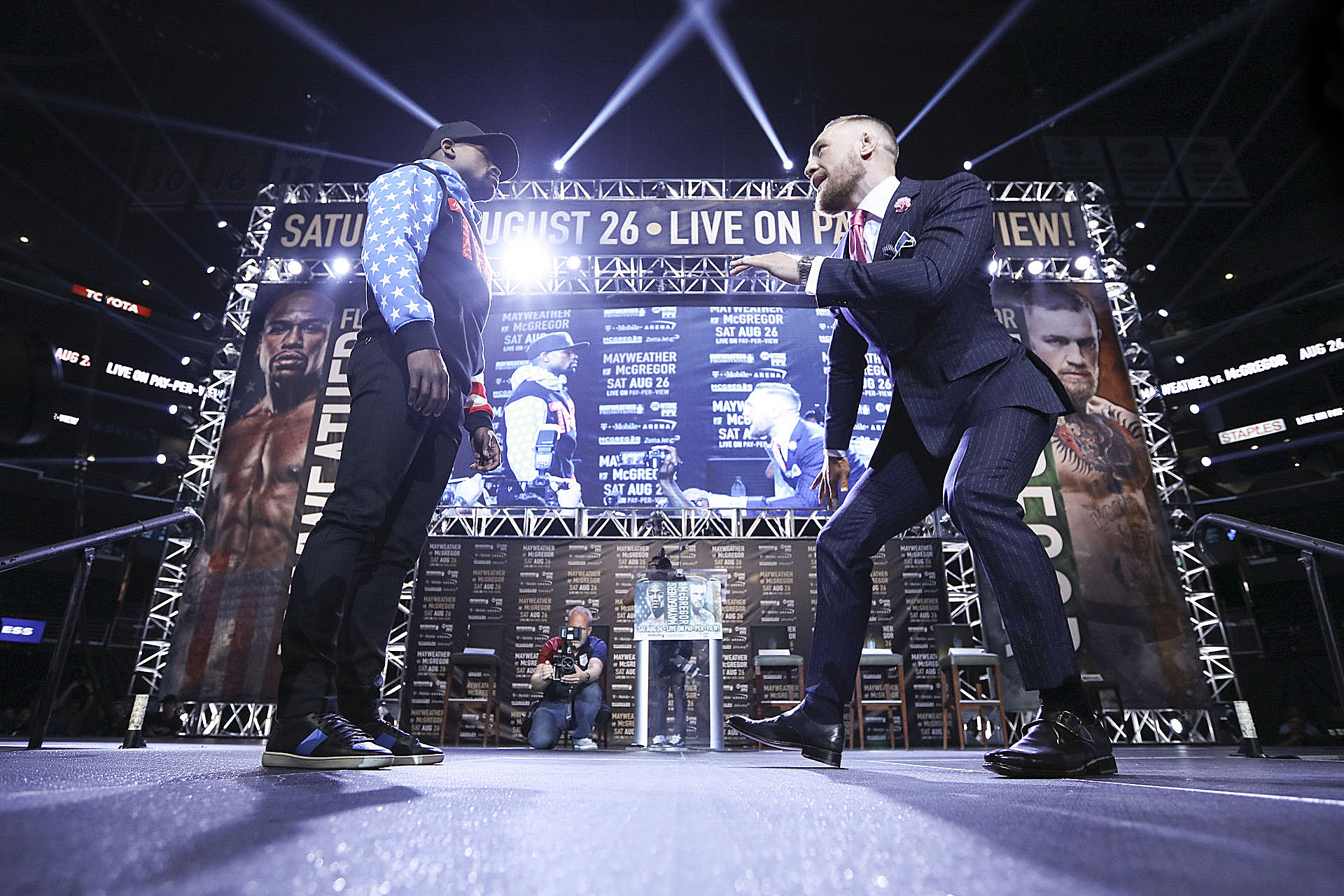 Floyd Mayweather Vs. Conor McGregor Ticket Prices, On-Sale Date Set