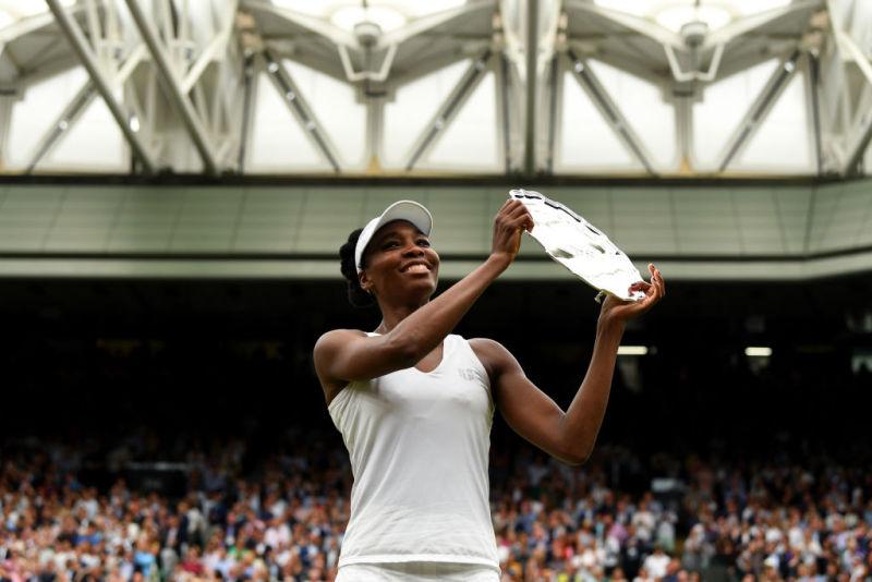 Venus Williams Loses To Garbine Muguruza In Wimbledon Final