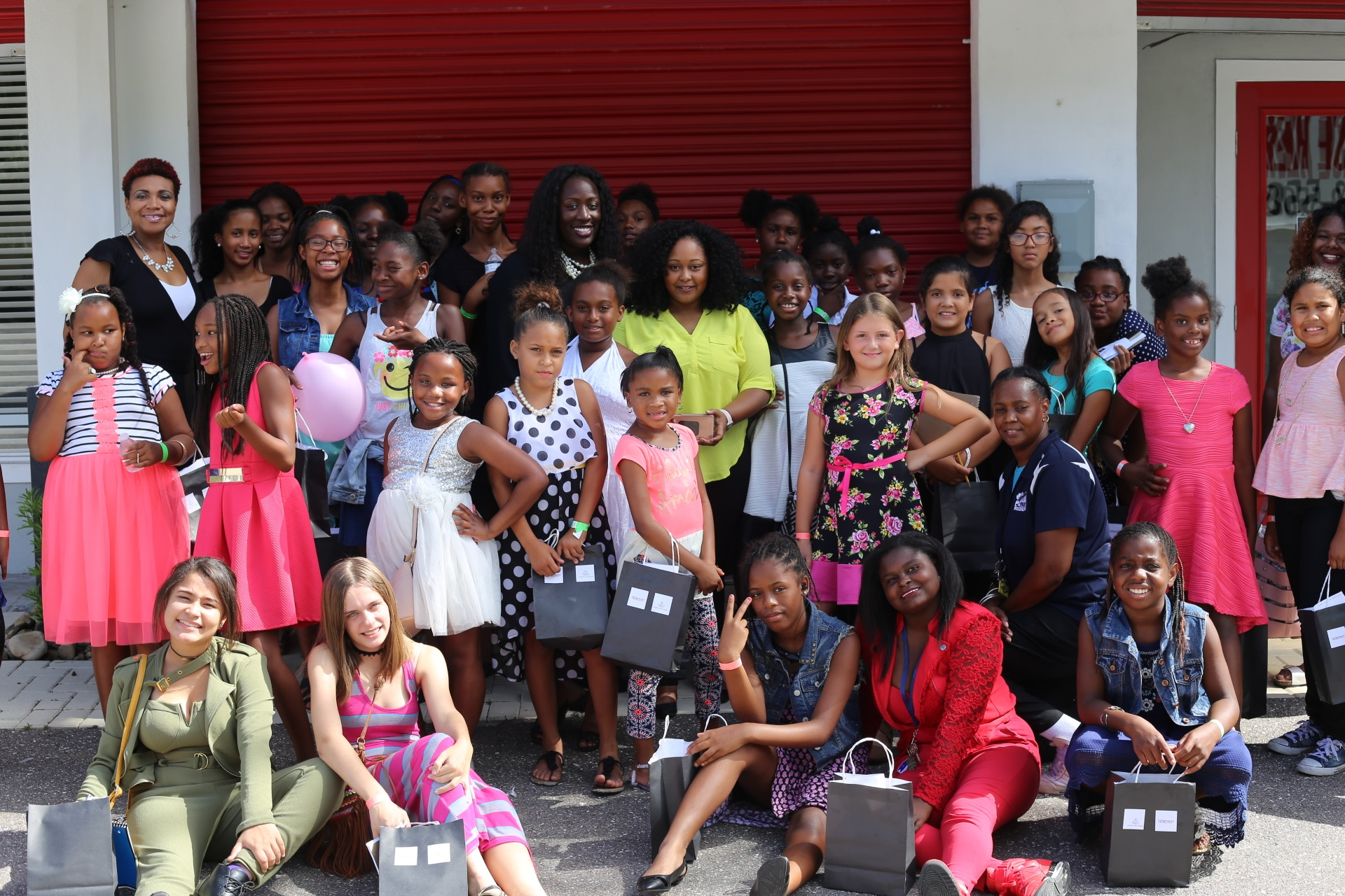 'Building A Boss' Workshop Inspired 40 Girls To Pursue Their Dreams