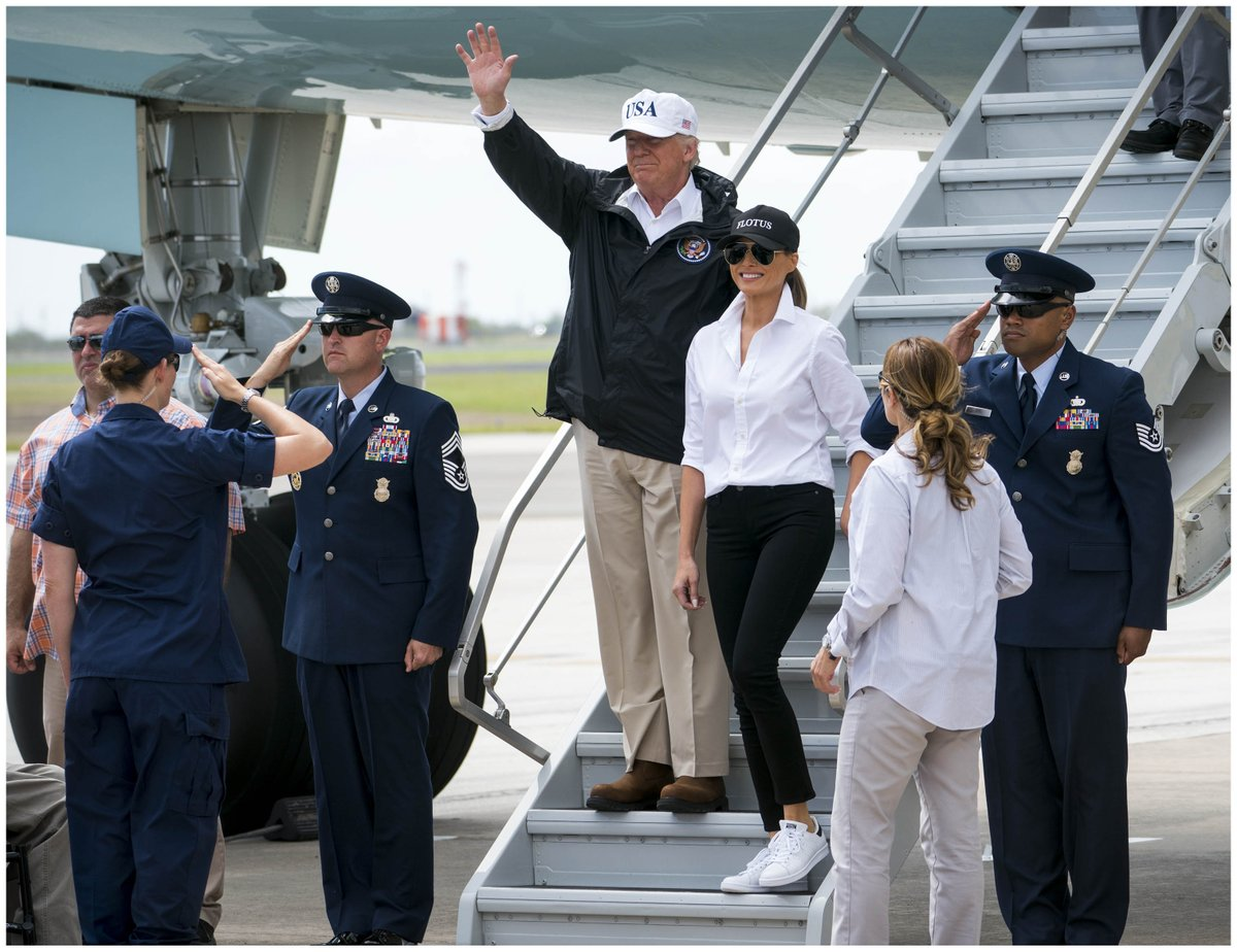 Bush's Press Secretary Says Trump's Response To Harvey Was Missing 1 Thing