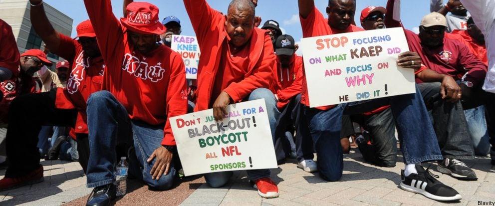 Colin Kaepernick's Frat Brothers Boycott NFL