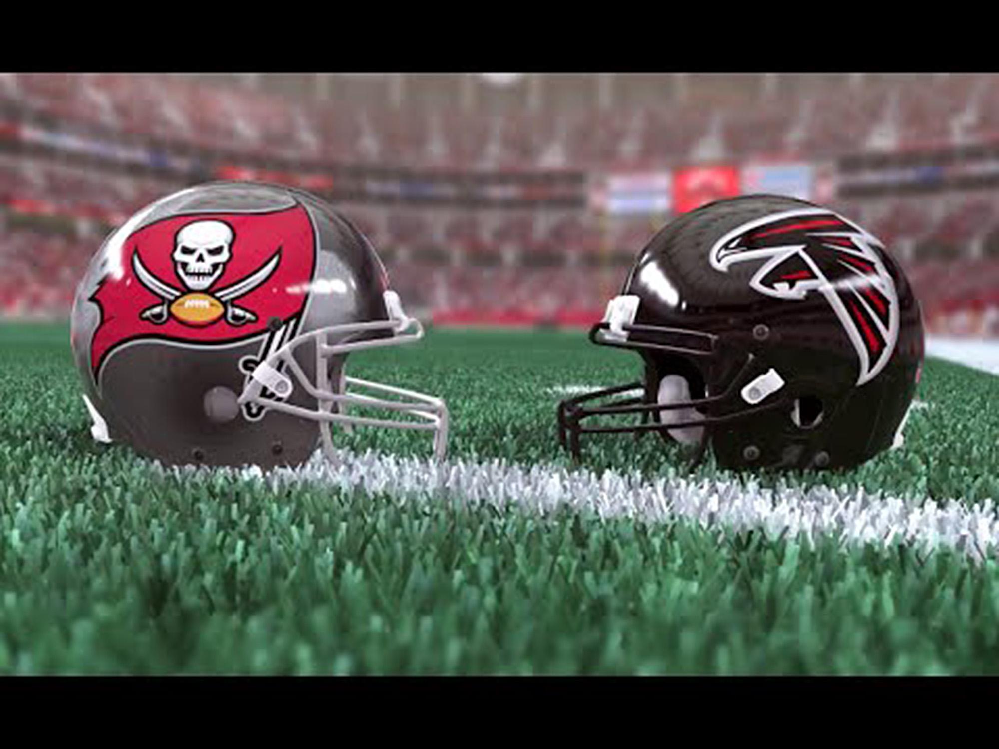 Falcons Vs. Buccaneers On Monday Night Football