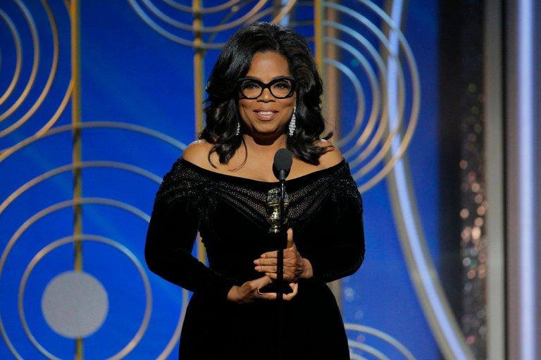 Oprah Winfrey Accepts Lifetime Achievement Award At Golden Globes WithPowerful Speech