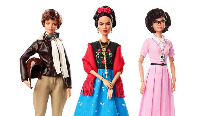Three New Barbie Dolls Honor Sheros