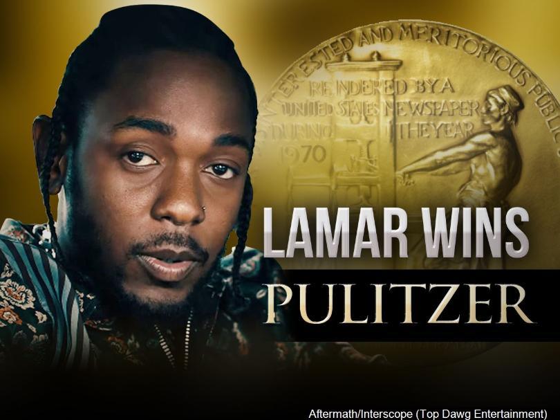 Kendrick Lamar Accepts His Pulitzer Award In Ceremony At Columbia University