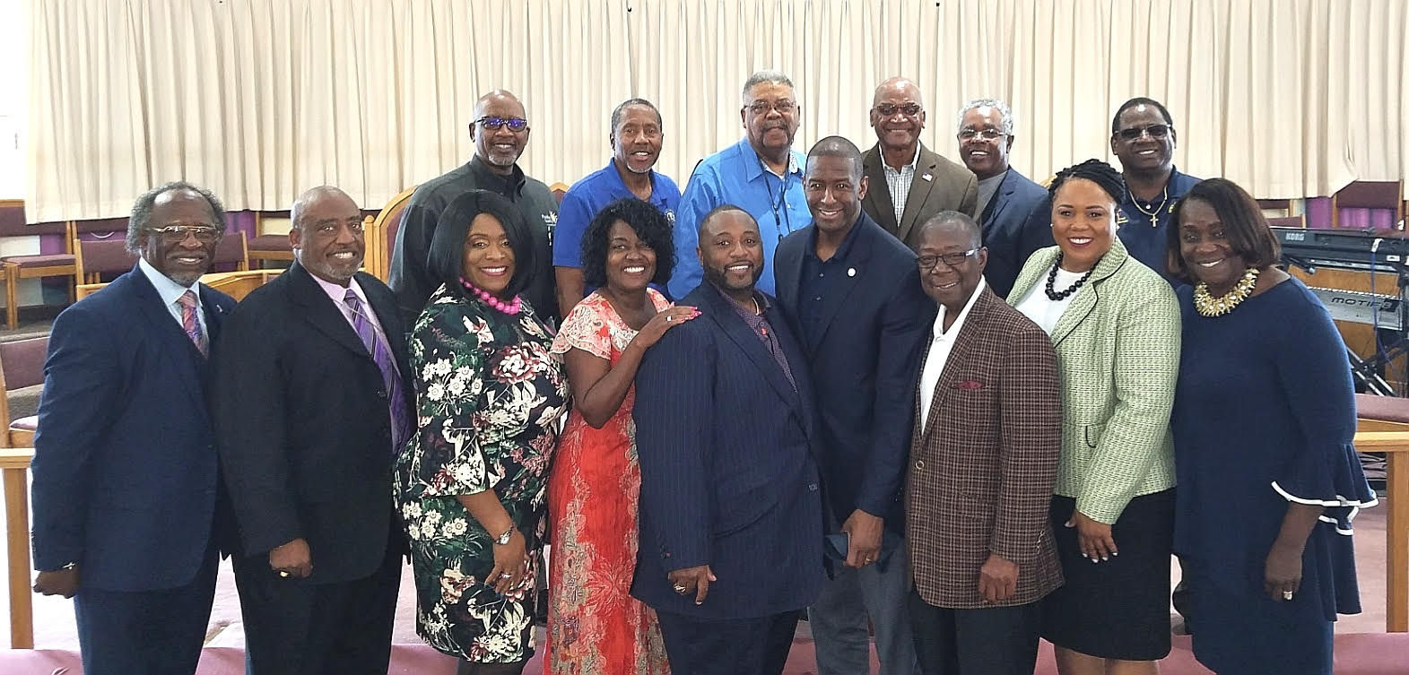 Front Page - Ministers And Gillum