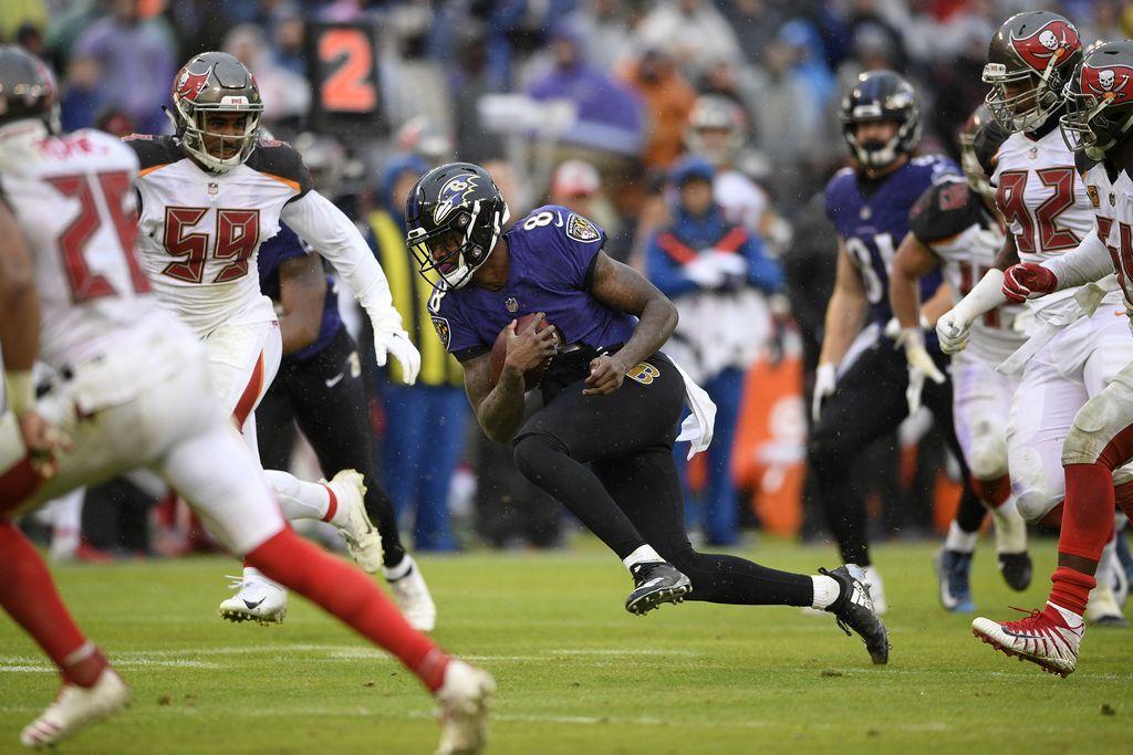 Jackson Helps Ravens RunPast Buccaneers 20-12