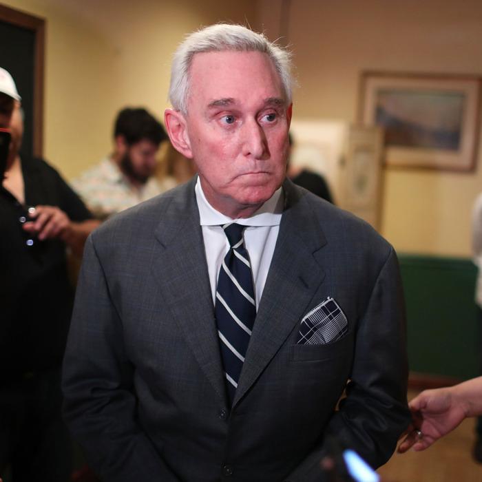 Roger Stone warns Trump's presidency is in peril