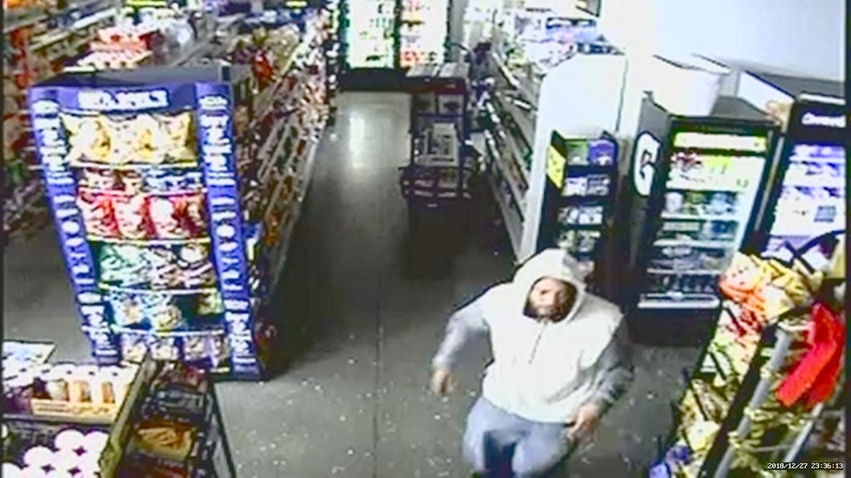 Burglary Suspect Targets Dollar Stores