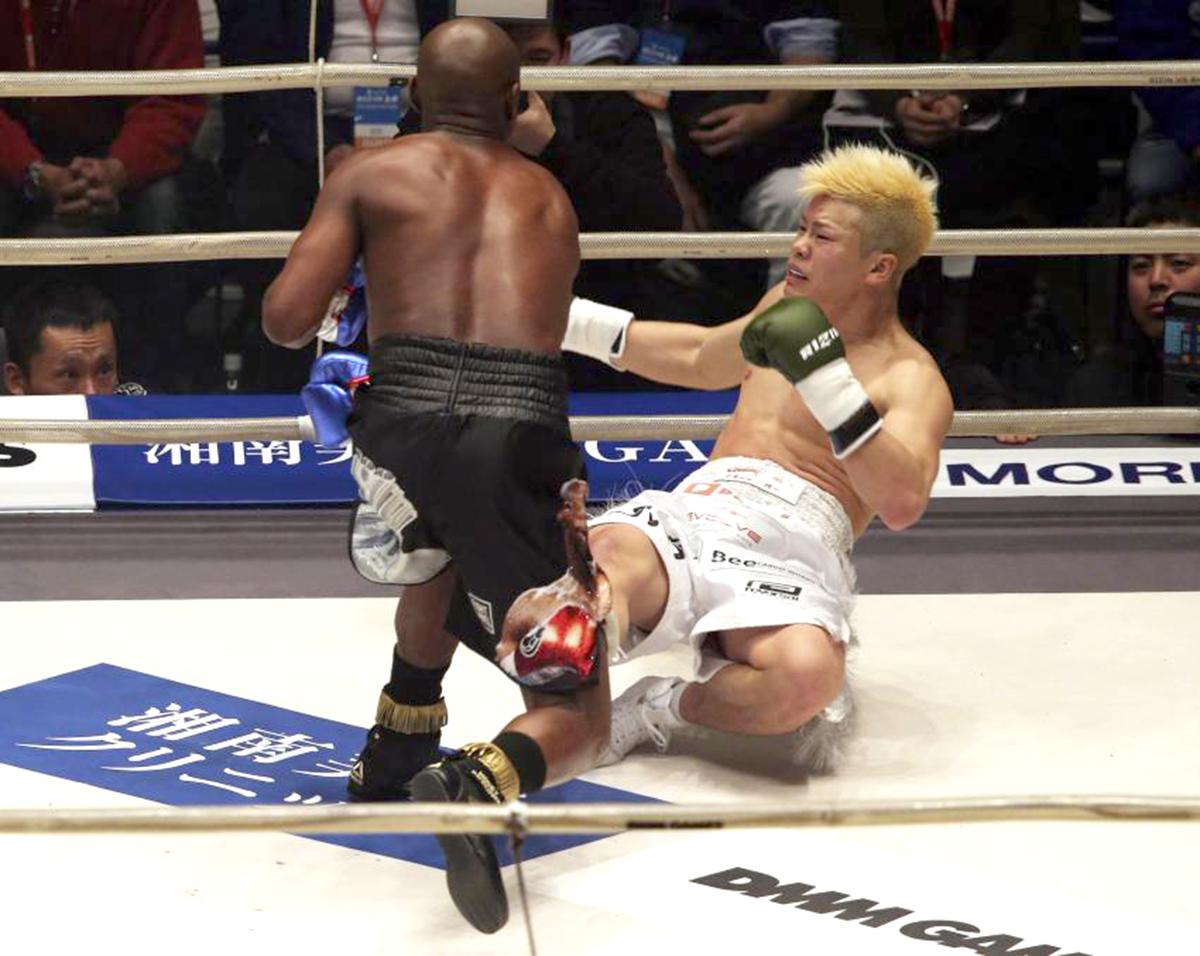 Floyd Mayweather Didn't Even Train For $9MTenshin Nasukawa Fight