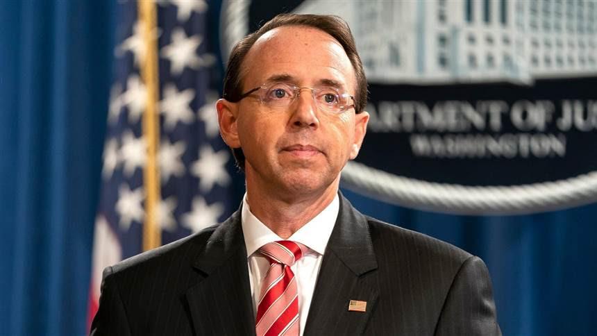Rod Rosenstein, who oversaw Mueller probe, leaving Justice Department