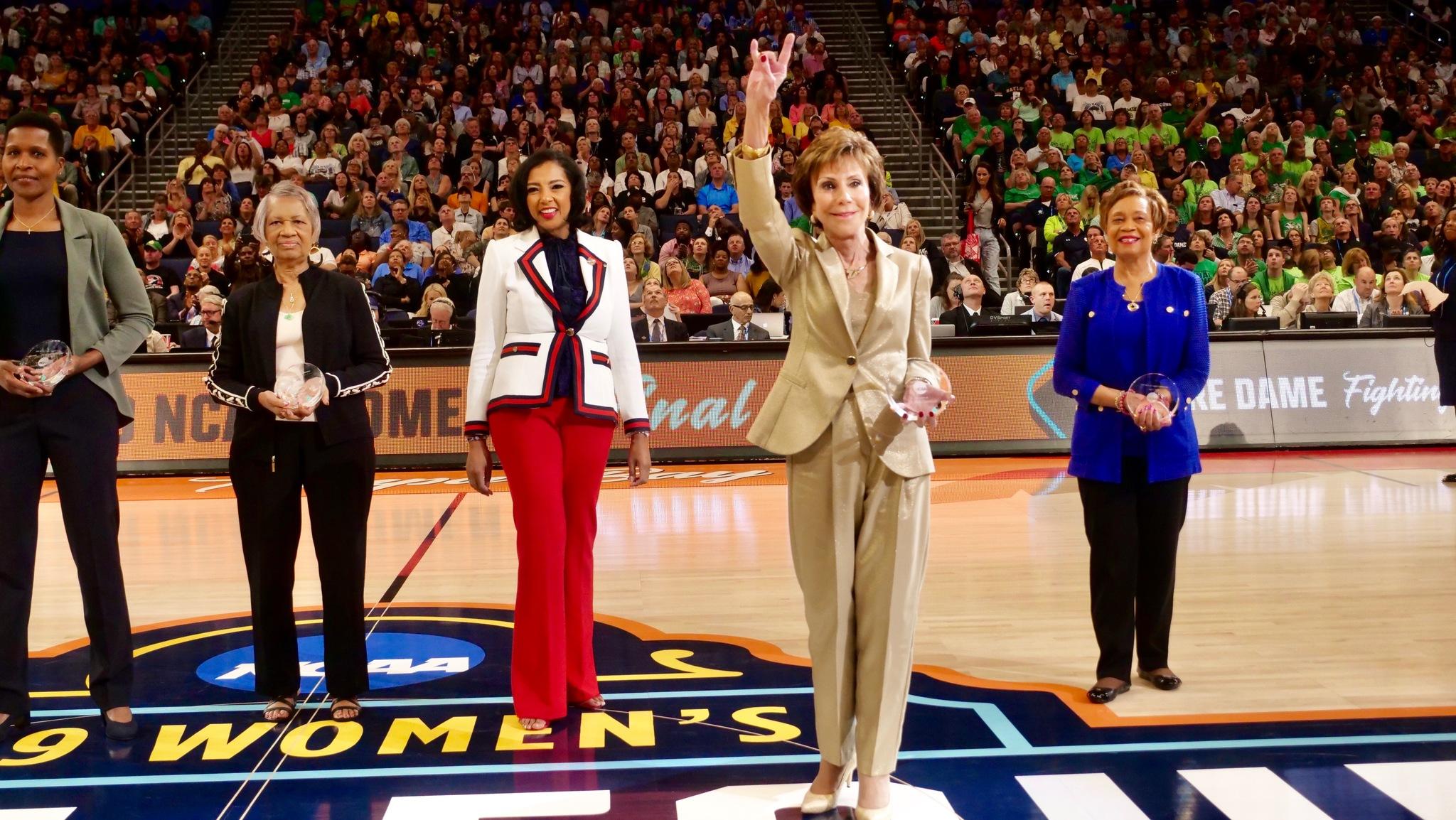 Judy Genshaft, Miller Stewart Honored