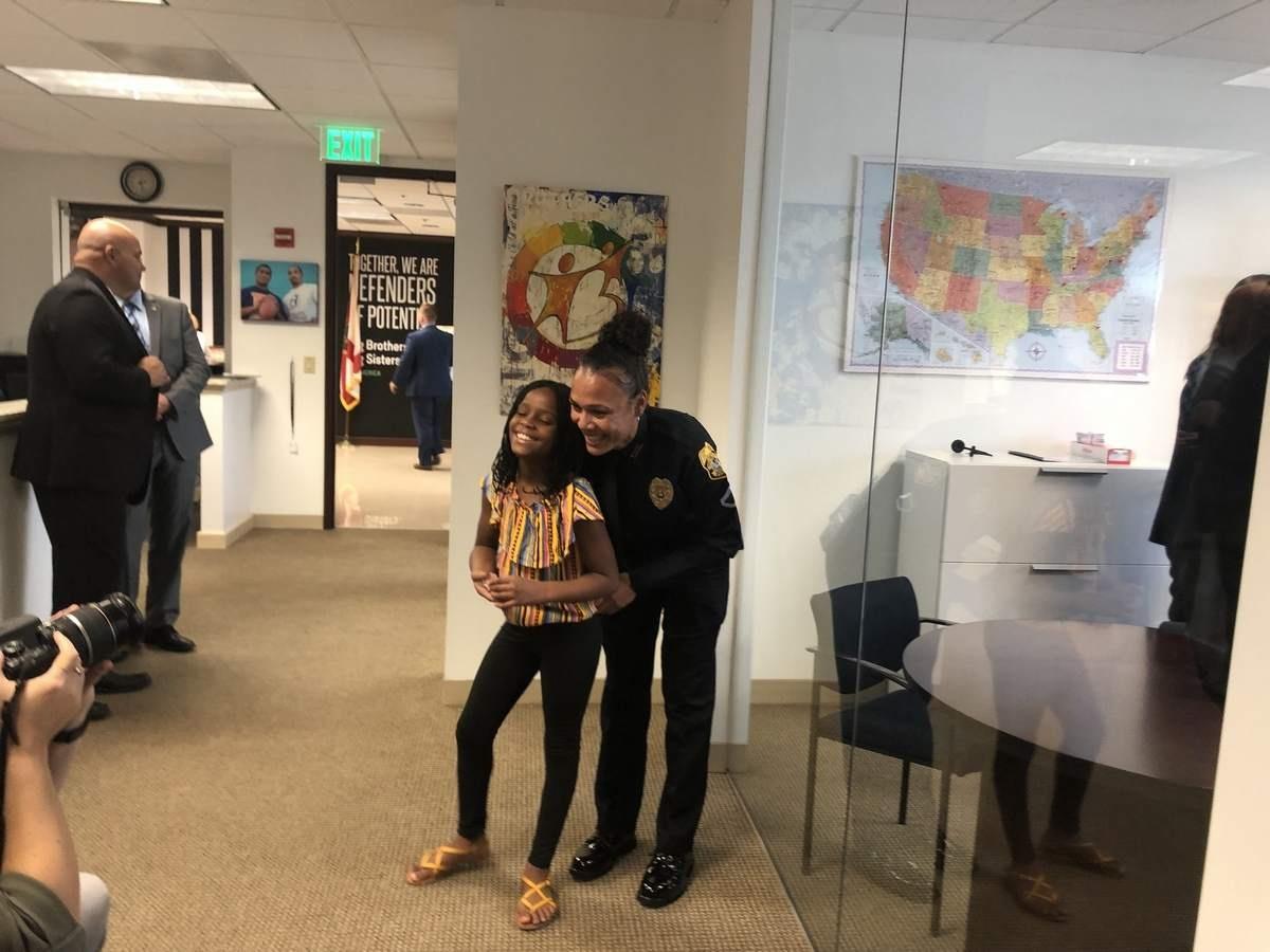 Detective Andrea Hughes and Tarajii