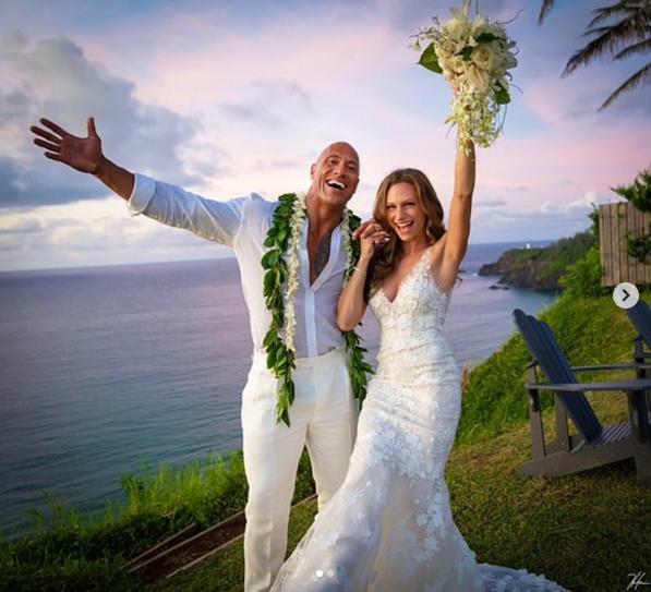 Rock's Wedding Pic