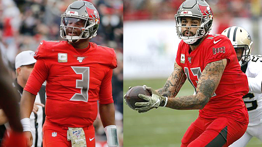 Buccaneers Lose,  Winston Throws Four Picks, And Mike Evans Frustrated