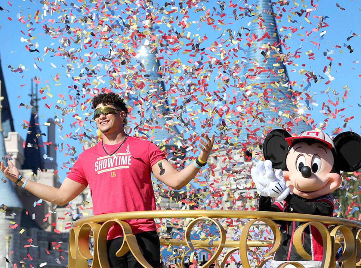 Pat Mahomes-Disney