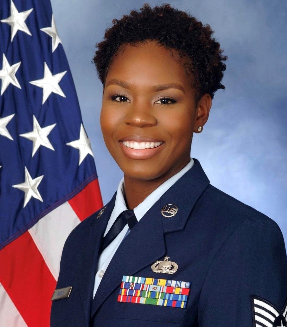 EBONI bAILEY, TSGT USAF
